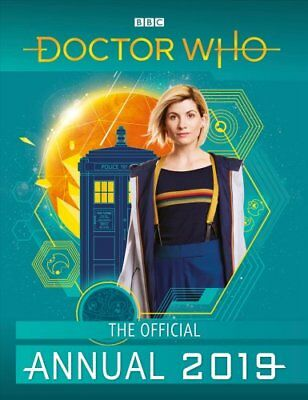Doctor Who: Official Annual 2019 by Doctor Who 9781405933766 (Hardback, 2018)
