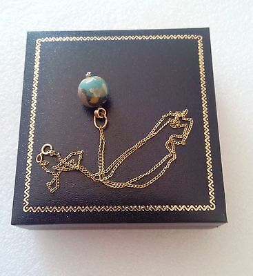 Vintage 14K Gold Necklace With 2,000 Year Old Ancient Eastern Mediterranean Bead