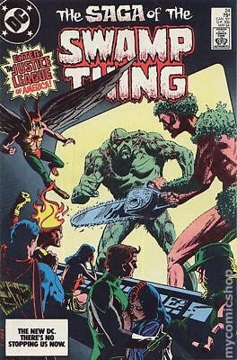 Swamp Thing (2nd Series) #24 1984 FN Stock Image