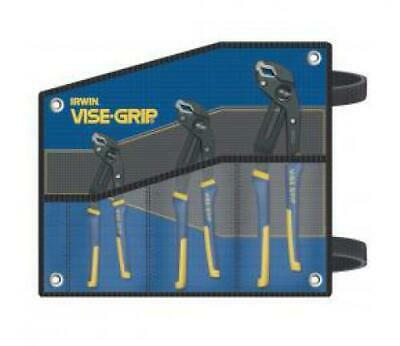 IRWIN INDUSTRIAL TOOLS VISE-GRIP GROOVE LOCK KITBAG 3pc SET