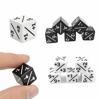 5/10PCS Dice Counters  +1/+1 -1/-1 For Magic The Gathering&CCG MTG Games