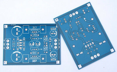 LM317t LM337t linear adjustable filter regulated DC power PCB board DIY Amp