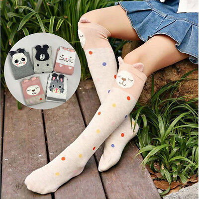 f73a455f0 Cute Baby Kids Toddlers Fox Girls Knee High Socks Tights Leg Warmer  Stockings