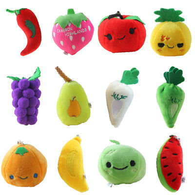 Hanging Decoration Little Toys Stuffed Vegetables Children Dolls Plush Fruits
