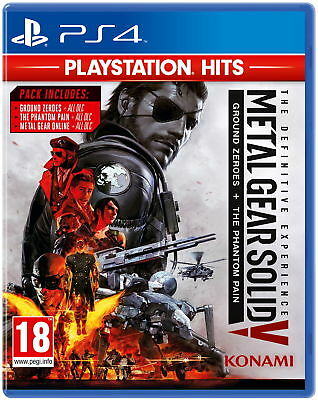 Metal Gear Solid V: The Definitive Experience (PS4) - PlayStation Hits