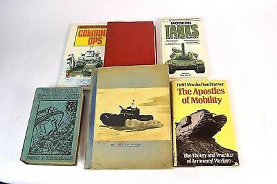Remarkable Tank Military Notebook W/ Artwork Carver Apostles Of Mobility 4 More