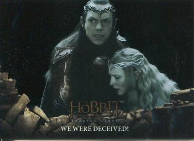 Hobbit Battle Of 5 Armies Foil Base Card #30 We Were Deceived!