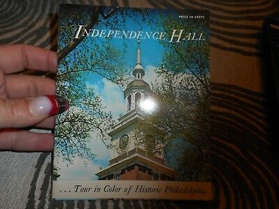 Vintage Souvenir Book Indendence Hall Philadelphia PA 1963