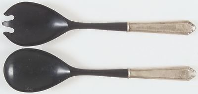 Lunt WILLIAM & MARY STERLING 2 Piece Salad Set (Plastic Implements) 327571