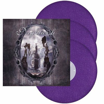 Nightwish - End Of An Era Re-Release 3LP Violet Sparkle Vinyl 07.12.18 pre sale