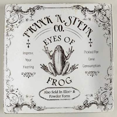 222 Fifth HALLOW APOTHOCARY Eyes of Frog Square Salad Plate 10659508