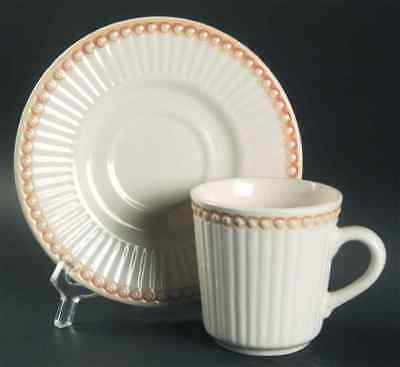 Culinary Arts VICTORIAN PEARLS Cup & Saucer 4373878