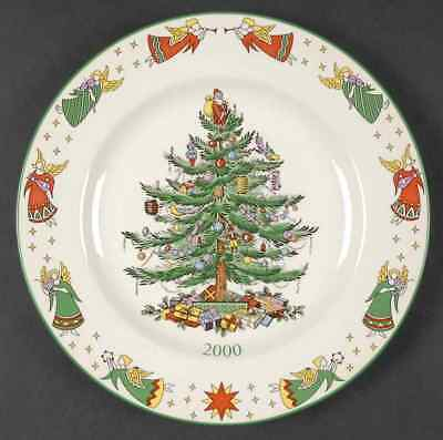 Spode CHRISTMAS TREE (GREEN TRIM) 2000 Collector Plate 2610271