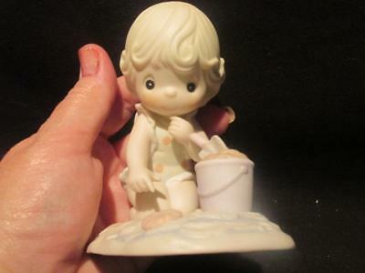 His Little Treasure 1993 Members Only PM931 Precious Moments Figurine