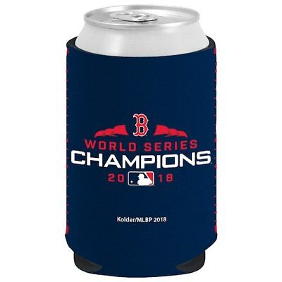 Boston Red Sox Navy 2018 World Series Champions 12oz. Kaddy Can Cooler