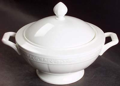 Villeroy & Boch CAMEO WHITE (WEISS) Round Covered Vegetable Bowl 1260354