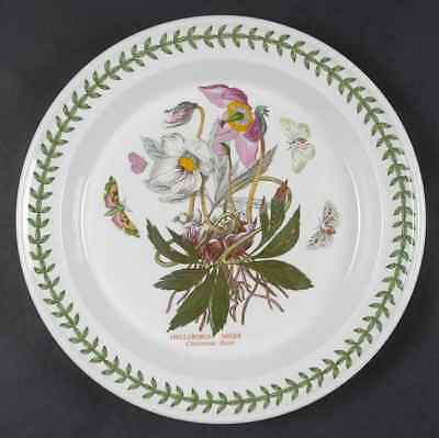 Portmeirion BOTANIC GARDEN Christmas Rose Dinner Plate S4697623G3