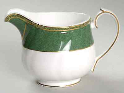 Wedgwood CROWN EMERALD Creamer 783559