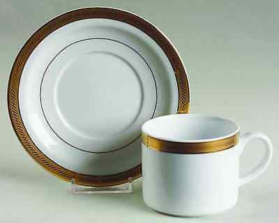 Royal Porcelain ELEGANCE GOLD Cup & Saucer 6586677
