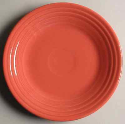 Homer Laughlin FIESTA FLAMINGO (CONTEMPORARY) Luncheon Plate 9510759
