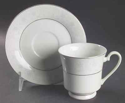 Crown Fine China QUEENS LACE Cup & Saucer 6365745