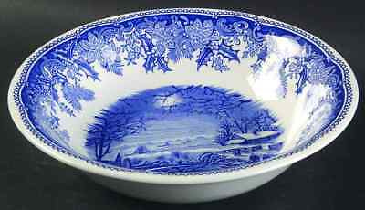 Spode WINTER'S EVE BLUE Ascot Cereal Bowl 6560821