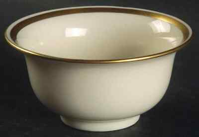 Lenox Liners (CREAM,GOLD TRIM) Bouillon Liner-Decoration #Mg 7325276