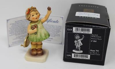 """Goebel Hummel Figurine Forever Yours 793 TMK7 3 7/8"""" Tall with Orig Box and tag"""