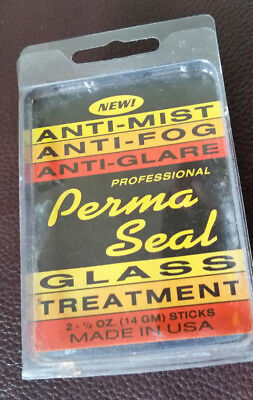 PERMA SEAL GLASS TREATMENT - anti mist, anti glare, windscreen, glasses, mirrors