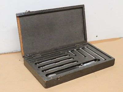 "Moore & Wright 8"" to 28"" Internal Inside Micrometer VGC In Box ME1786"