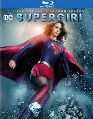 Supergirl:complete Second Season - Blu-Ray Region 1 Free Shipping!