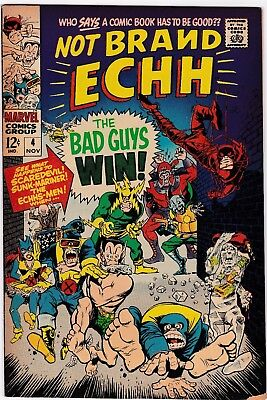 Not Brand Echh #4, November 1967!! Vg/fine Condition! Marvel Silver Age Classic!