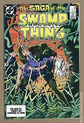 Swamp Thing (2nd Series) #23 1984 VF- 7.5