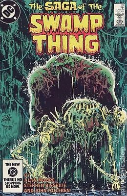Swamp Thing (2nd Series) #28 1984 VF Stock Image