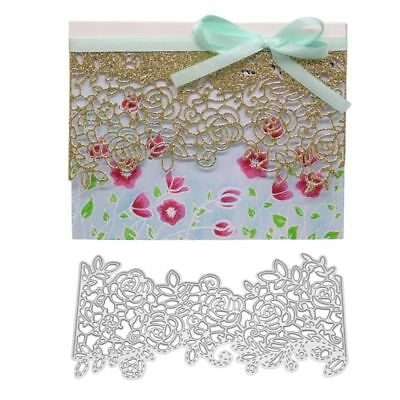 Lace Border DIY Cutting Dies Stencil Scrapbooking Paper Card Embossing Craft