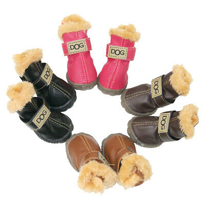 Winter DOG Australia Booties Snow Boots Sneakers Shoes for Puppy XS Small Dog