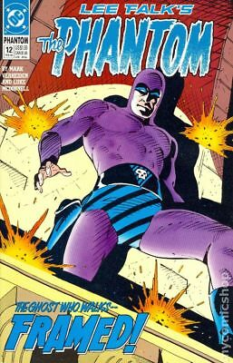 Phantom (DC 2nd Series) #12 1990 FN Stock Image