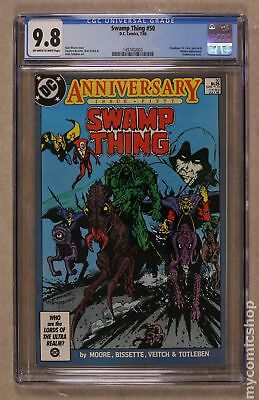 Swamp Thing (2nd Series) #50 1986 CGC 9.8 1497402003