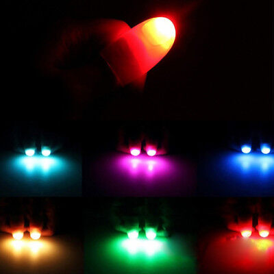 Magic Super Bright Light Up Thumbs Fingers Trick Appearing Light Close Up 2 pcs