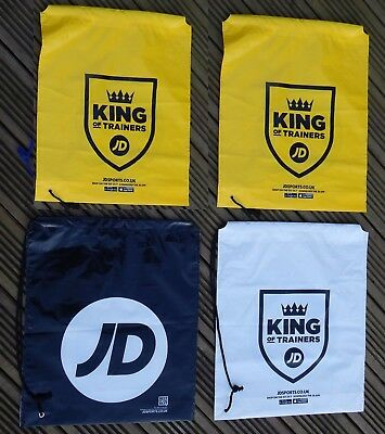 JD Sports Drawstring Bags new casual   buy 1 yellow or white and get one free
