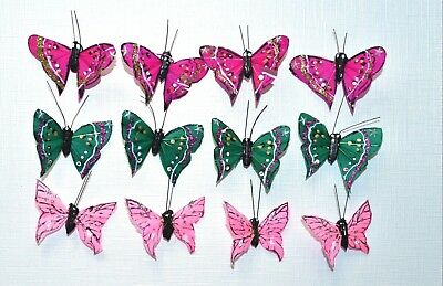 Knorr Prandell 120mm Feather Butterflies 2pcs Green /& Yellow #8030910