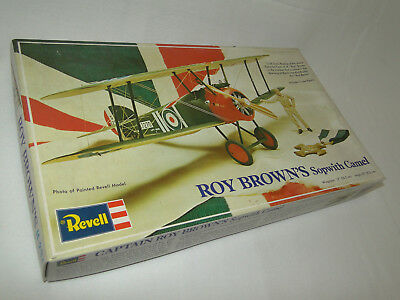 Revell H-234 Captain Roy Brown´s Sopwith Camel 1:28 Bausatz Neu in OVP