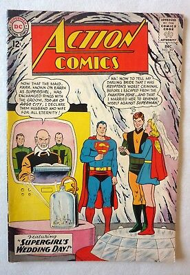 Action Comics Superman 307 Silver Age 1963 DC NF/FN- Condition