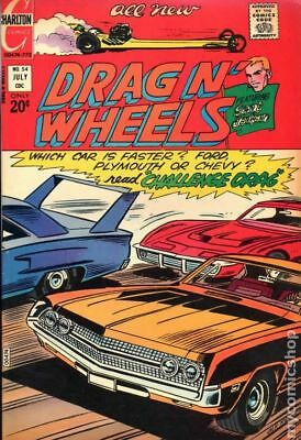 Drag N Wheels #54 1972 VG- 3.5 Stock Image Low Grade