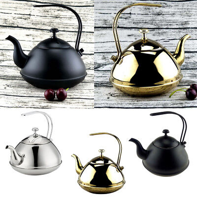 2L Tea Kettle Stovetop Whistling Stainless Steel Sturdy Teapot for Stovetop