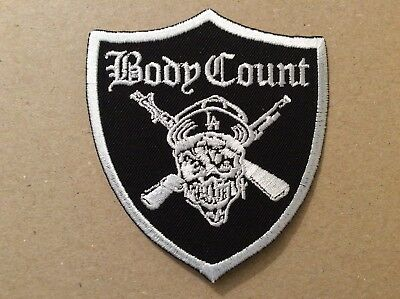 M418 // Ecusson Patch Aufnaher Toppa / Body Count 8*9 Cm