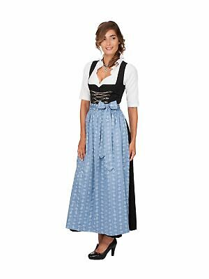 Stockerpoint Dirndl Apron Midi 70cm Smokey Blue