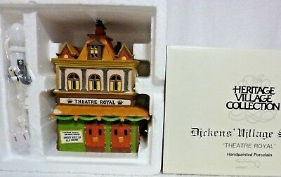Dept 56 Dickens Village Theatre Royal - 55840