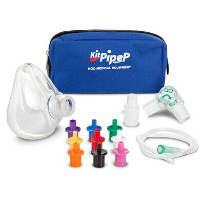 PEP MASK Fisioterapia Espiratoria Positiva con Maschera KIT PIPEP Mask INFANT