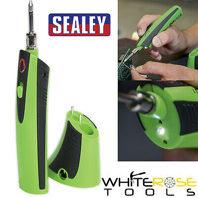 Sealey SDL6 Professional Rechargeable 3.7V Li-ion Cordless Soldering Iron 510°C